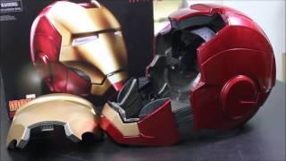 [Testing] Marvel Legends  1/1 Iron Man Electronic Helmet  !