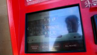 Redbox Video Rental Kiosk Return Netflix Sent back Late..;-( DVD and Film Rentals Review