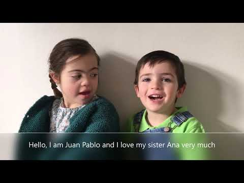 Veure vídeo Happy Down Syndrome Day from Ana
