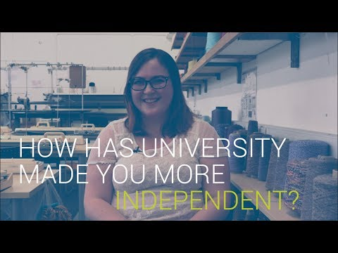 How has University made you more independent? | University of Southampton