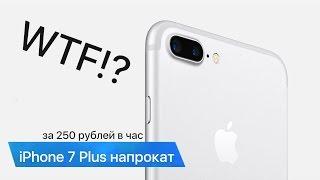 iPhone 7 Plus напрокат... WTF!?