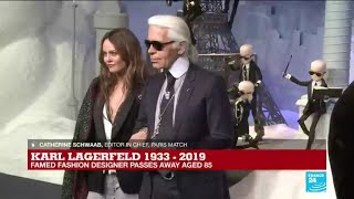 How will the fashion community remember Karl Lagerfeld?