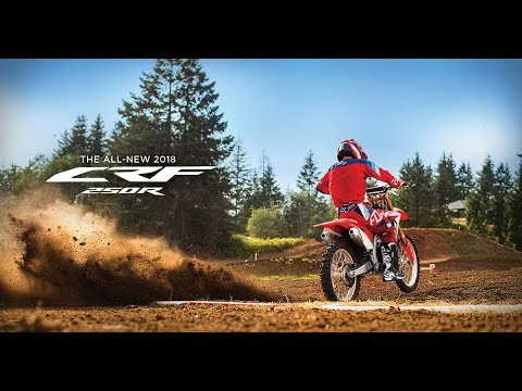 2018 Honda CRF250R in Chattanooga, Tennessee - Video 1
