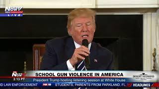 STRAPPING UP TEACHERS: President Trump On Concealed Carry For Teachers