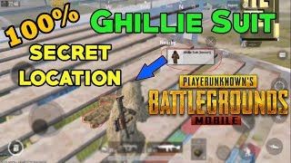 PUBG MOBILE - GHILLIE SUIT (Desert) Secret Location | Training Base | HINDI (2018)