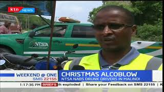 NTSA nab ten drivers driving under the influence of alcohol along Malindi-Lamu road