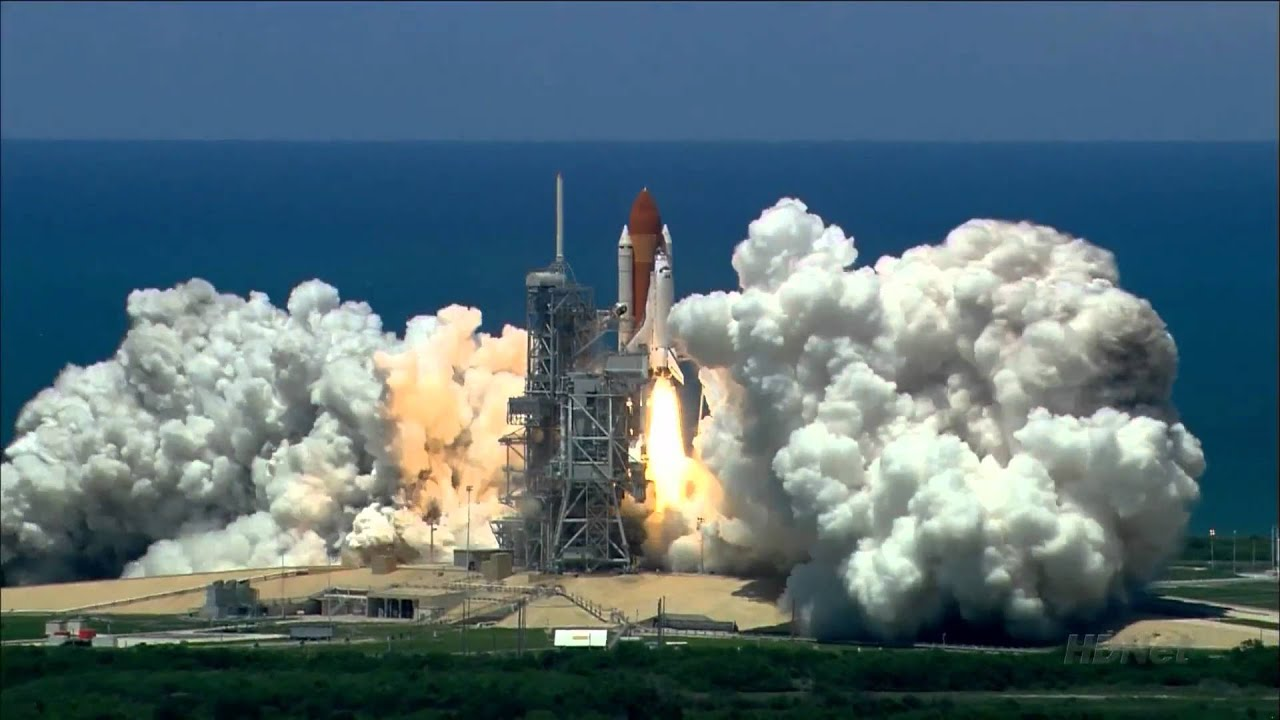 This Space Shuttle Launch Video Will Reduce Your Brain To Rubble