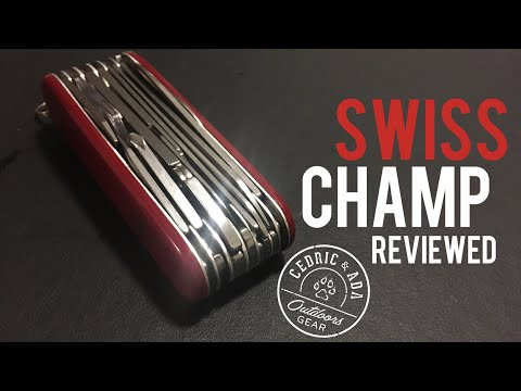 Victorinox Swisschamp Review and Tool Guide