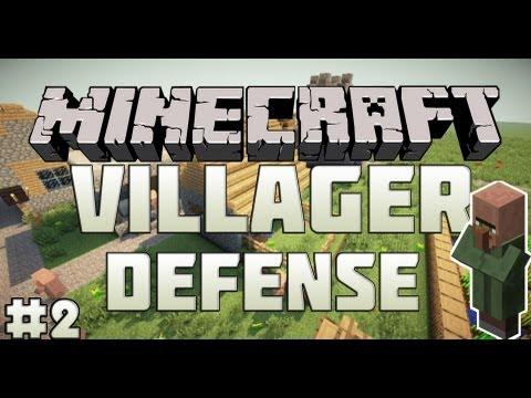 Minecraft Mini-Game : Villager Defense - 2 из 2