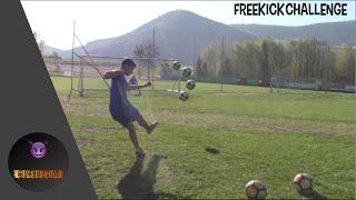 Freistoß Challenge gegen Fxby!