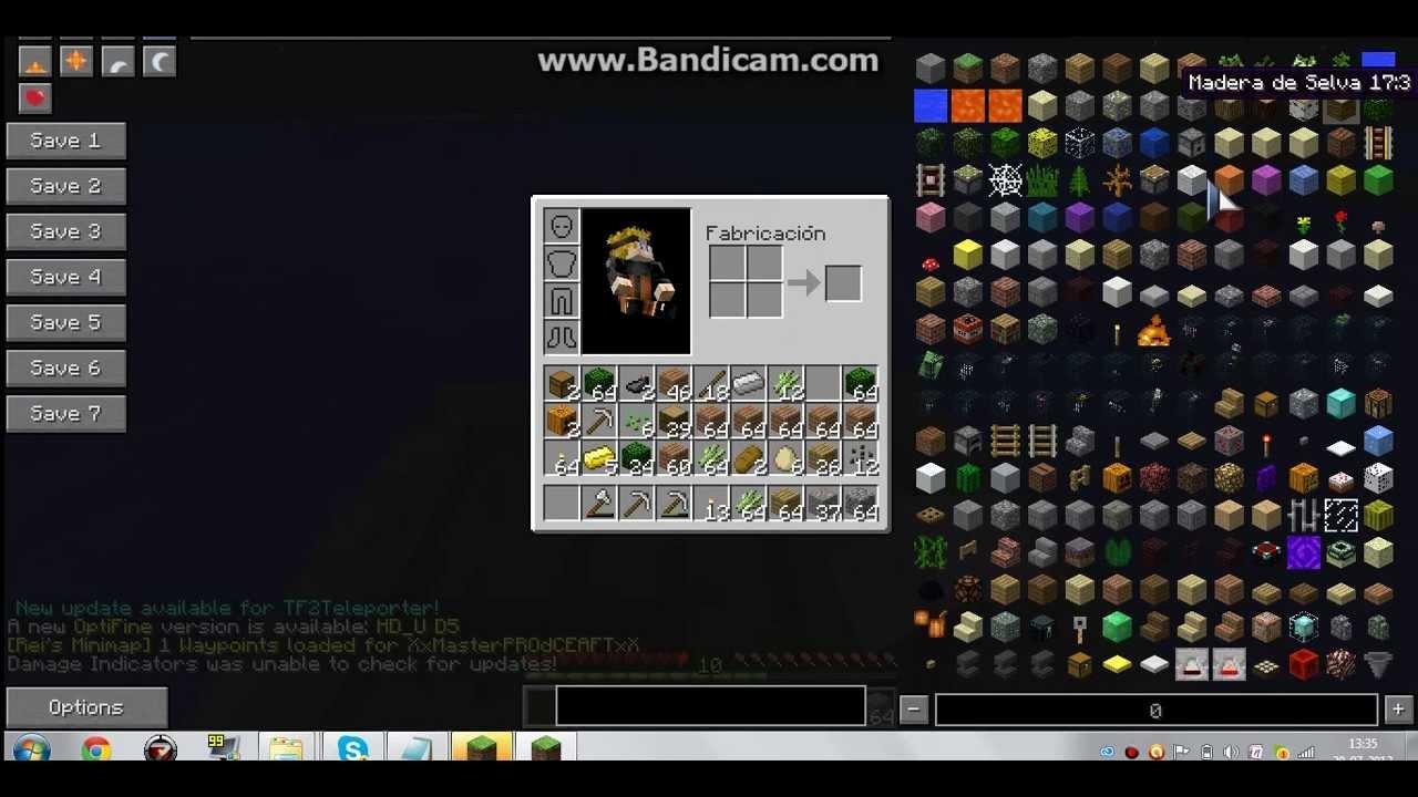 Descargar Minecraft 1.5.2 con mods instalados