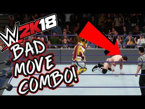 These Move Combos are RUINING WWE 2K18 Online! - Double Finishers and No Lose Moves!