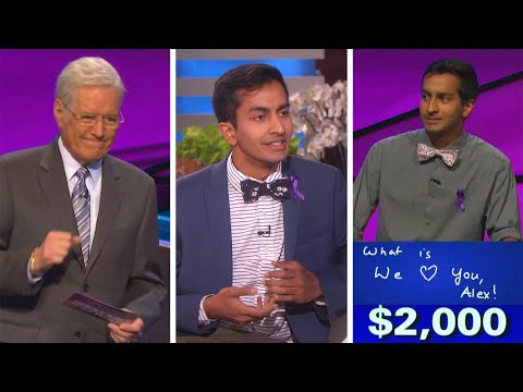 Jeopardy! Contestant Who Made Alex Trebek Emotional Opens Up About Sweet Tribute