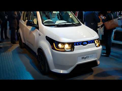 Mahindra E2o NXT Review In Hindi | Auto Expo 2018 | MotorOctane