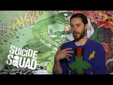 Suicide Squad: Jared Leto gives me The Joker stare