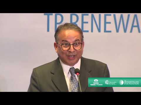Mr Praveer Sinha's at the launch event of TP Renewable Microgrid