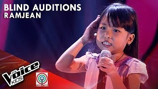 Ramjean Entera - Nosi Balasi | Blind Auditions | The Voice Kids Philippines Season 4