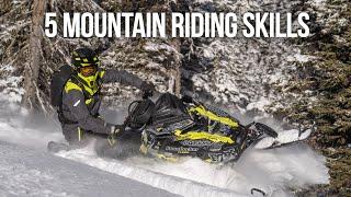 5 Mountain Riding Skills