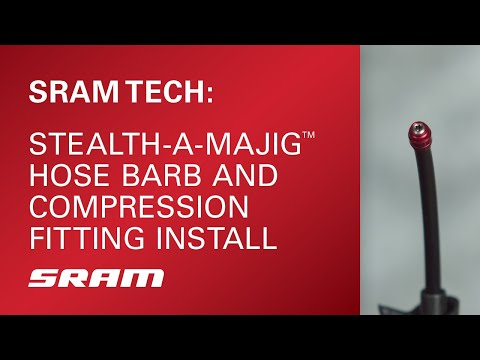 Stealth-A-Majig™ Hose Barb and Compression Fitting Installation