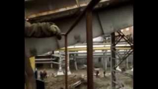 Пожар на ТЭЦ 2 Барнаул  5 Октября 2014. Автор - Иван Табакаев