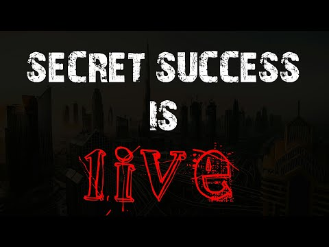 Who Is Secret Success? - First Live
