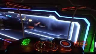 Elite Dangerous Spacestation Security, no mercy