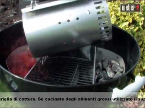 Barbecue Weber a carbone   La cottura diretta e indiretta.
