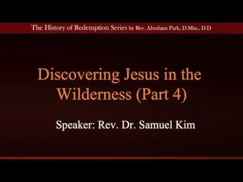 Discovering Jesus in the Wilderness Part 4