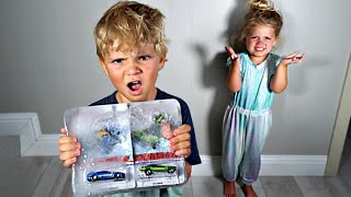 RyRy FROZE Tydus Favorite Toys in ICE! *Payback*