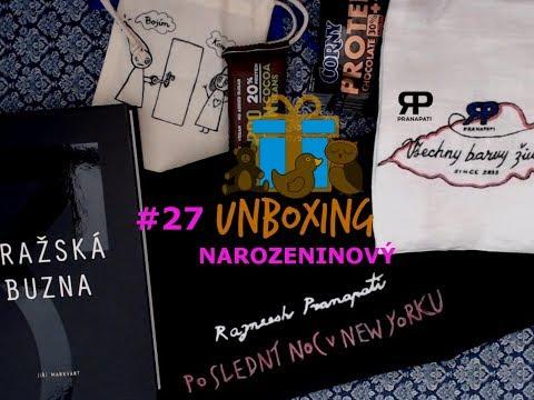 Unboxing #27 - Narozeninový