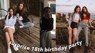 Surprising my best friend for her 18th birthday