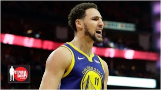 Klay Thompson should stay with the Warriors, if he's happy - Mychal Thompson | Stephen A. Smith Show
