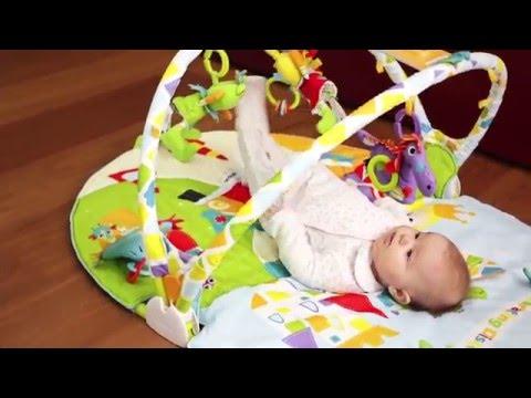 Palestrina per bambini Yookidoo Gymotion Activity con macchinina