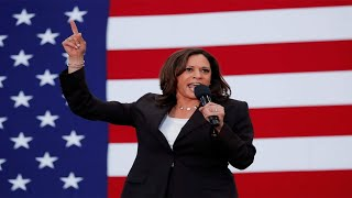 Kamala Harris hits out at Trump, says he minimised seriousness of Covid-19 outbreak  IMAGES, GIF, ANIMATED GIF, WALLPAPER, STICKER FOR WHATSAPP & FACEBOOK