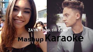 ZAYN - Dusk Till Dawn   Mashup Karaoke - Conor Maynard Ft. Madison Beer
