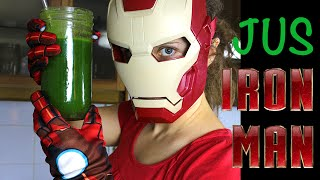 FRUITY GEEK : Le JUS d'IRON MAN