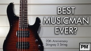 Best Music Man Bass Ever? - 20th Anniversary Stingray 5 String Demo