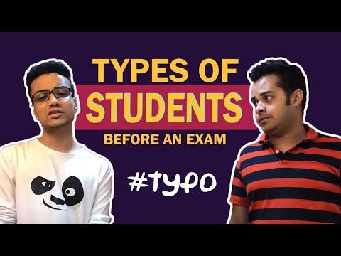 #typo | S02E23 | Types of students before an exam | Mirchi Agni | Mirchi Somak | Mirchi Bangla