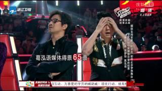 《中国好声音第二季》20130930 第十三期全程 哈林组冠军战 金润吉苏梦玫对决