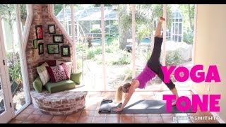 Yoga For Weight Loss - 40 Minute Fat Burning Yoga Tone Workout