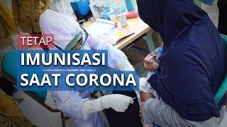 Layanan Imunisasi Tetap Berjalan di Masa Pandemi Covid-19, Kedepankan Protokol Kesehatan