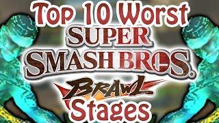 Top 10 Worst Super Smash Bros. Brawl Stages - dooclip.me