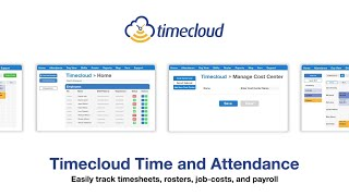 TimeCloud Time and Attendance video