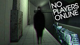 No Players Online | ALL ENDINGS of this Creepy Online FPS with VHS 80's Horror Style Video Game