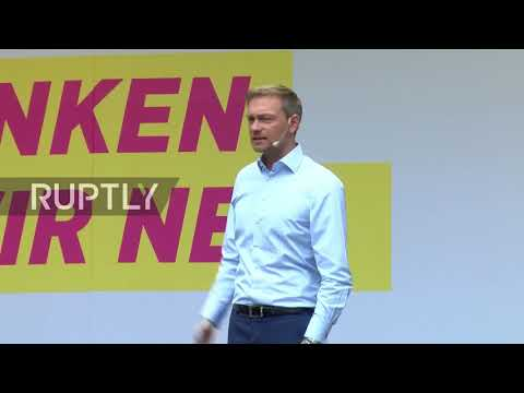 Germany: FDP's Lindner gives final address ahead of elections