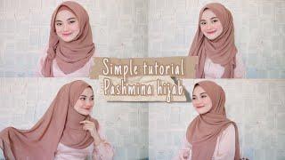 6 Cara Sederhana Memakai Hijab Pashmina - Tutorial Hijab Lebaran, Keundangan & Kuliah!