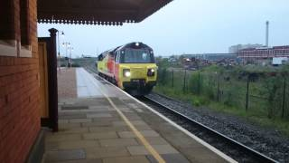 preview picture of video 'Colas Class 70804 Tyseley light engine 5/5/2014'