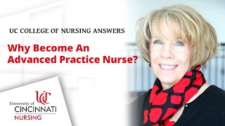 Why become an advanced-practice nurse?