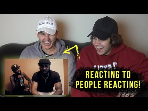 REACTING TO PEOPLE REACTING TO OUR SONG!