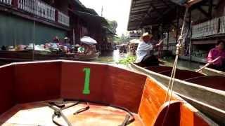 preview picture of video 'floating market damnoen saduak'